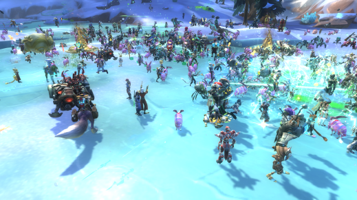 "Even that ""event"" that WildStar had was fun, because MMO life is neater in a crowd that devs create."